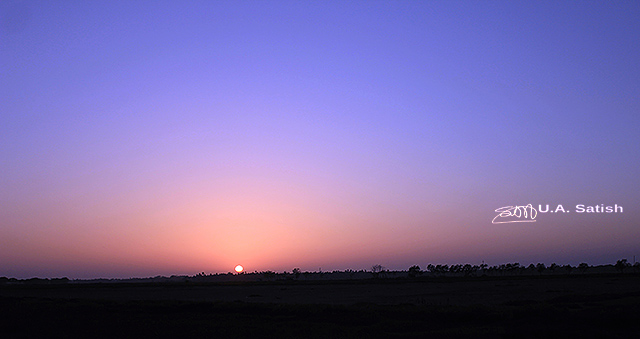 uasatish, India, Vasai, sunset, landscape, nature,