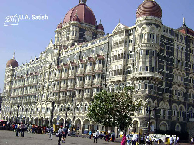 Hotel Taj Mahal, Mumbai, India, uasatish, travel,