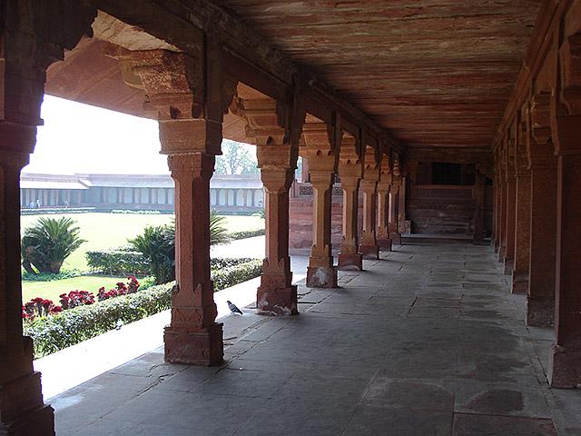 Palace Inside Fatehpur Sikri