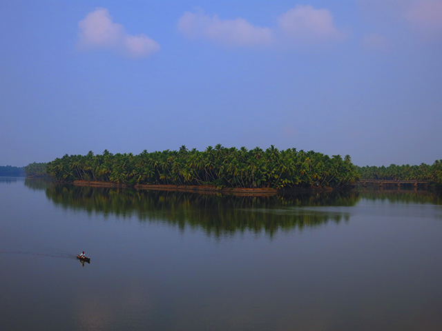 uasatish, India, nature, Kariyankode River, Kerala,