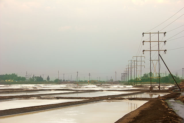 uasatish, Mumbai, India, Vasai, salt pans,