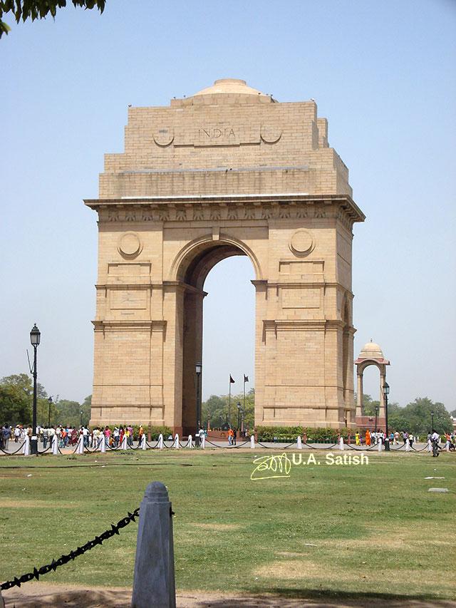 India Gate, New Delhi, uasatish, India,