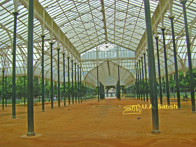Glass House, Lalbhag, Bangalore, Karnataka, India, botanical gardens, uasatish,