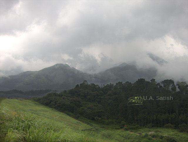 Padinjarathara, Wayanad, Kerala, India, uasatish, mountains,
