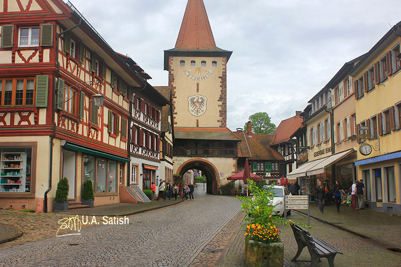 Gengenbach; Germany; Black Forest; Scwarzwald; Baden-Wurttemberg; medieval town; uasatish; https://uasatish.com;