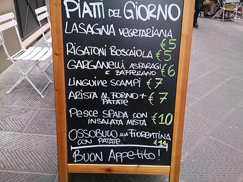 Trattoria; Restaurant; Florence; Italy; Trattoria Katti; uasatish; https://uasatish.com;