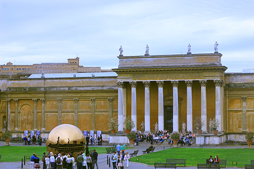 Vatican Museums; Rome; Italy; museum; paintings; sculptures; uasatish; https://uasatish.com; Vatican City; outdoor;