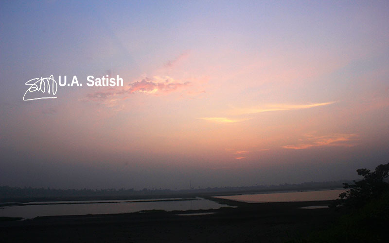 sunset; sky; cllouds; outdoor; radiance; landscape; nature; uasatish; https://uasatish.com;