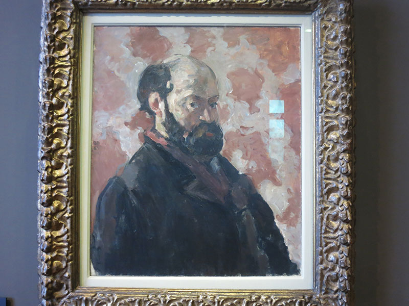 Paul Cezanne; artist; painting; Musee d'Orsay; Paris; France; indoor; uasatish; https://uasatish.com;
