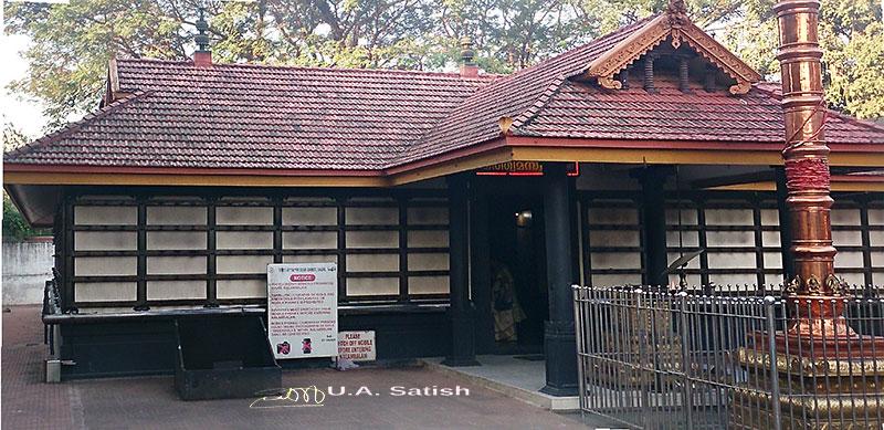 Sree Ayyappa Temple; Vasai; temple; Vasai; Mumbai; Kerala temple architecture; outdoor; uasatish;