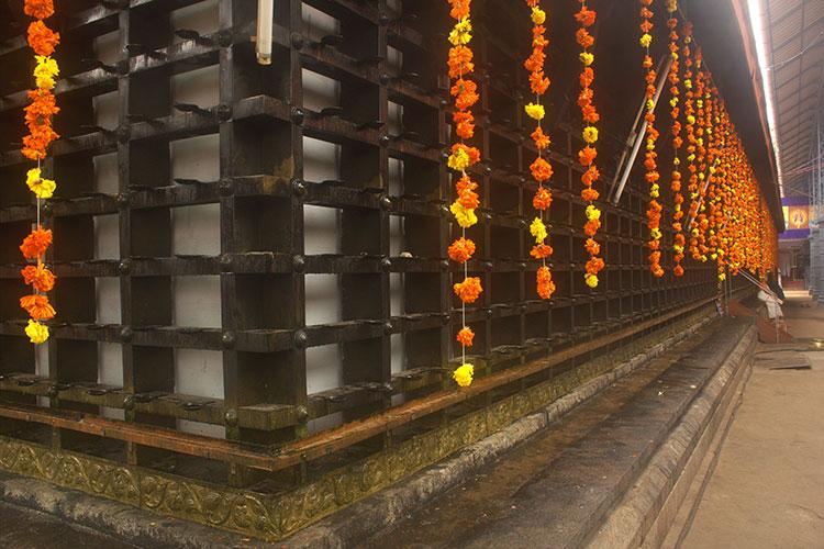 Ernakulathappan Temple; Ernakulam; Kochi; Kerala; India; temple; uasatish; flowers;