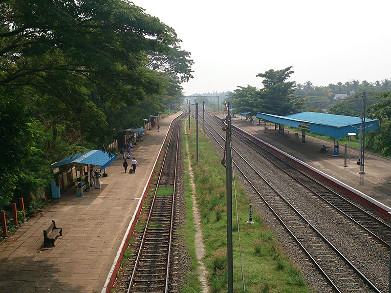 Kanhangad; railway station; Kerala; India; travel; outdoor; uasatish; https://uasatish.com;