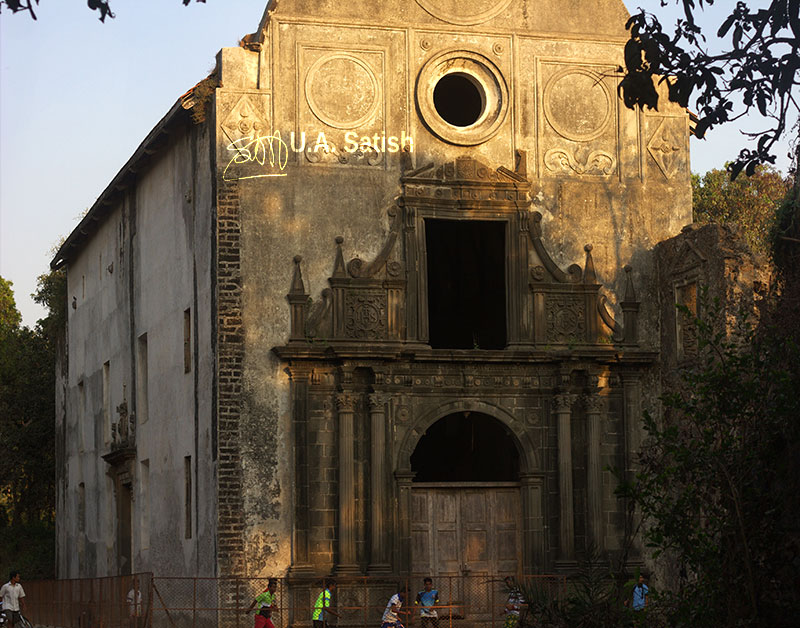 Vasai Fort; India; Mumbai; outdoor; architecture; uasatish; https://uasatish.com; church;