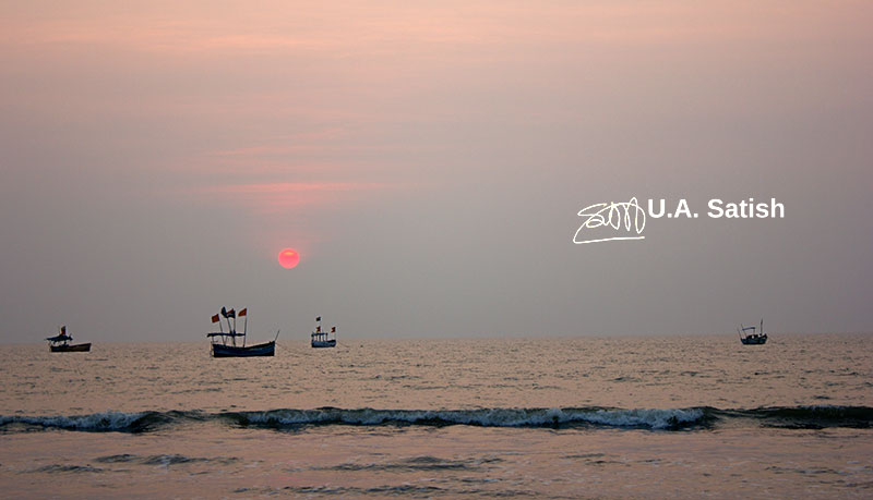Kalamb Beach; India; Mumbai; outdoor; uasatish; boats;