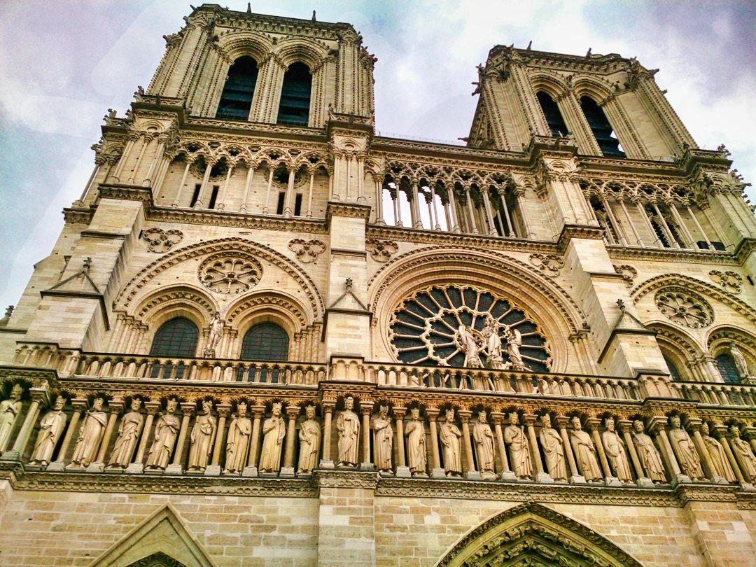 Cathédrale de Notre Dame de Paris; Paris; France; River Seine; uasatish;