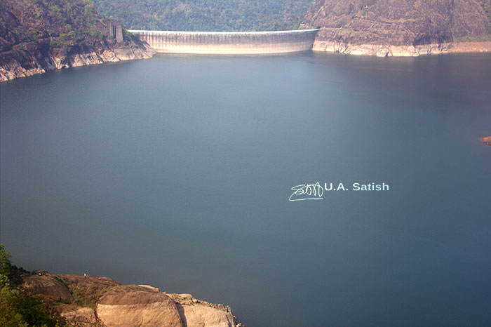 Idukki Arch Dam; Idukki; Kerala; India; outdoor; mega structure; travel; reservoir; rocks; uasatish; dam; https://uasatish.com;