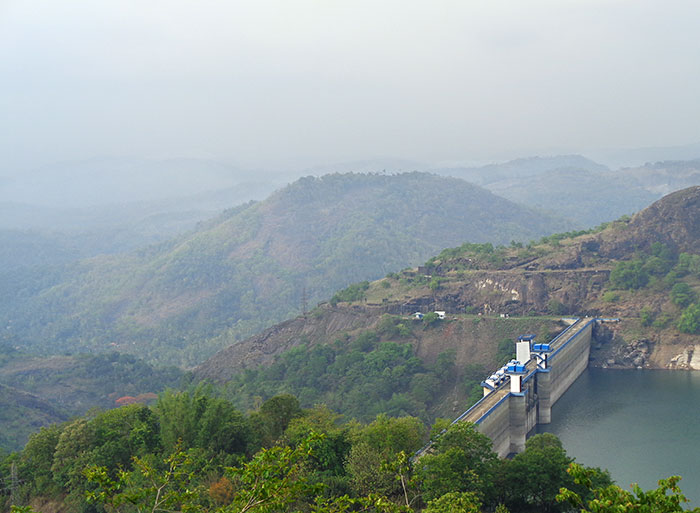 Cheruthoni Dam; Idukki; Kerala; India; outdoor; dam; uasatish; https://uasatish.com;