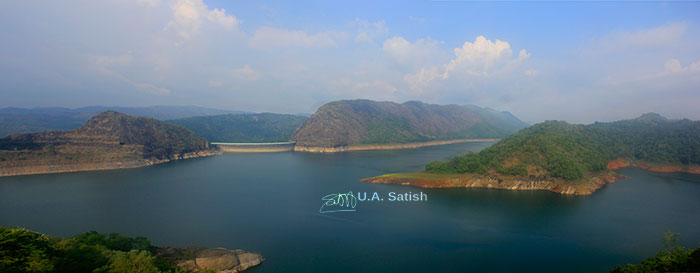 Idukki Arch Dam; Idukki; Kerala; India; outdoor; mega structure; travel; reservoir; rocks; uasatish; dam;