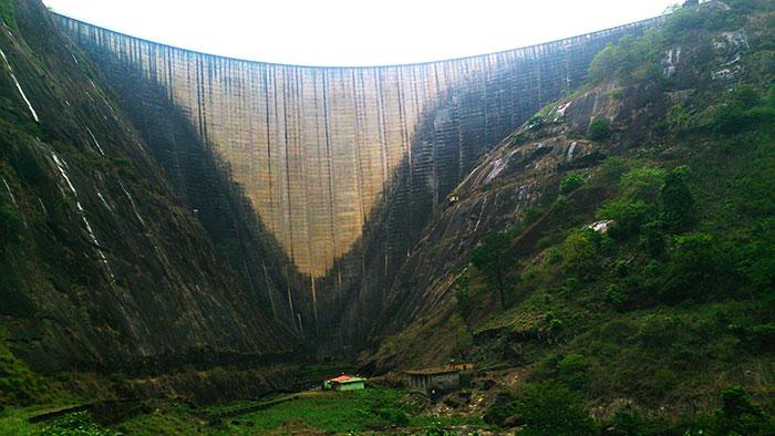Idukki Arch Dam; Idukki; Kerala; India; outdoor; mega structure; travel; rocks; uasatish; dam;