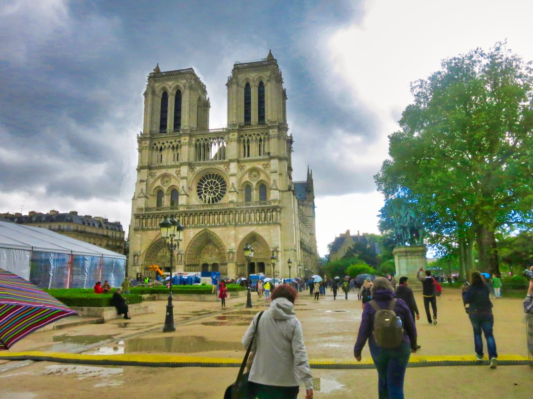 Notre Dame Cathedrale; Paris; France;uasatish;