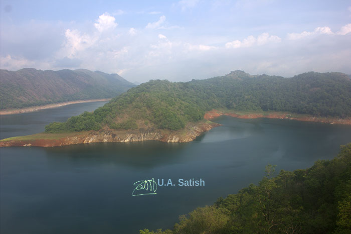 Idukki Arch Dam; Idukki; Kerala; India; outdoor; mega structure; travel; reservoir; rocks; uasatish; dam;