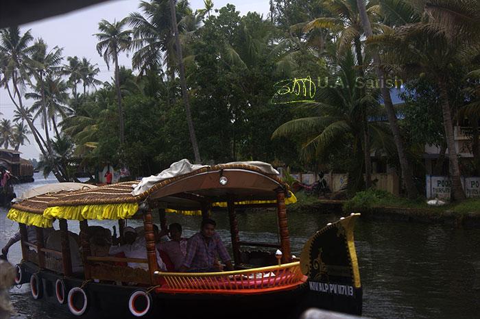 Alappuzha; Kuttanad; Kerala; India; trevel; trees; outdoor; uasatish; boat;