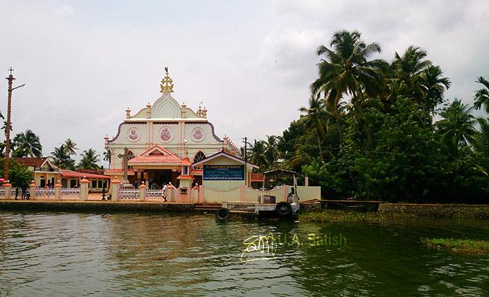Alappuzha; Kuttanad; Kerala; Kayal; travel; outdoor; uasatish; India; outdoor; trees; building;