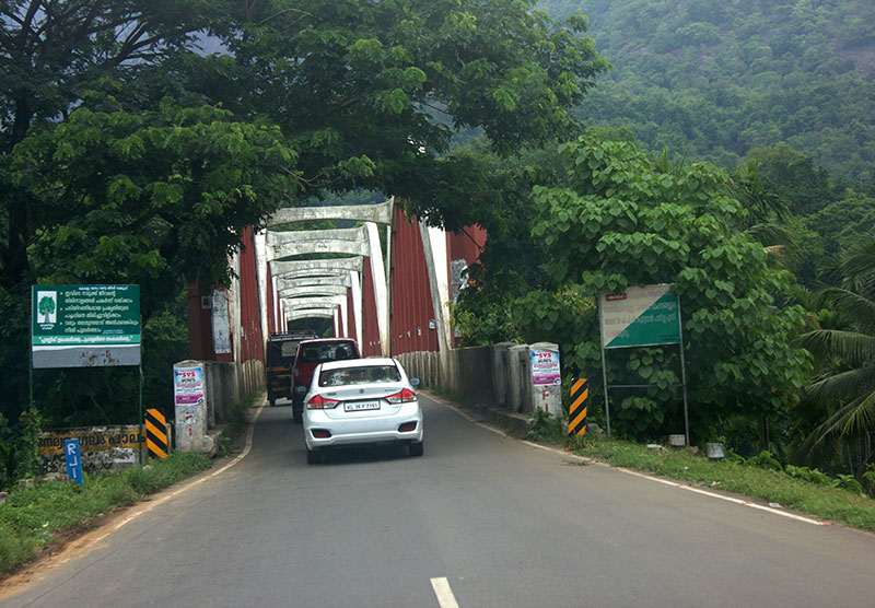 Neriamangalam Bridge; Neriamangalam; Kerala; India; bridge; travel; outdoor; trees; uasatish;