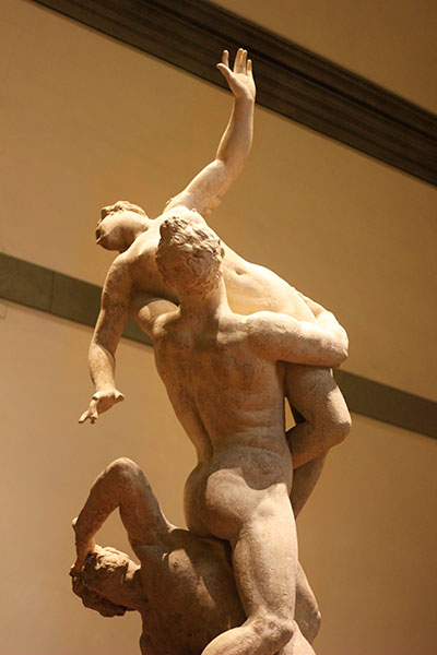 Accademia Gallery; sculpture; Florence; Italy; indoor; travel; uasatish; art museum;