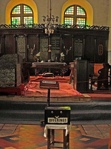 Saint Francis Church; Kochi; Kerala; India; indoor; uasatish; Fort Kochi;