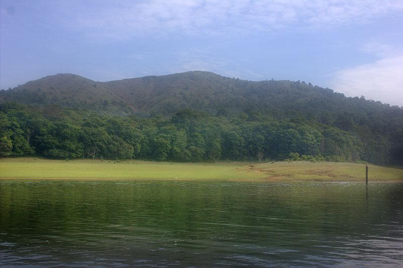 Periyar Lake; Thekkady; Kumily; Kerala; India; travel; outdoor; mountains;