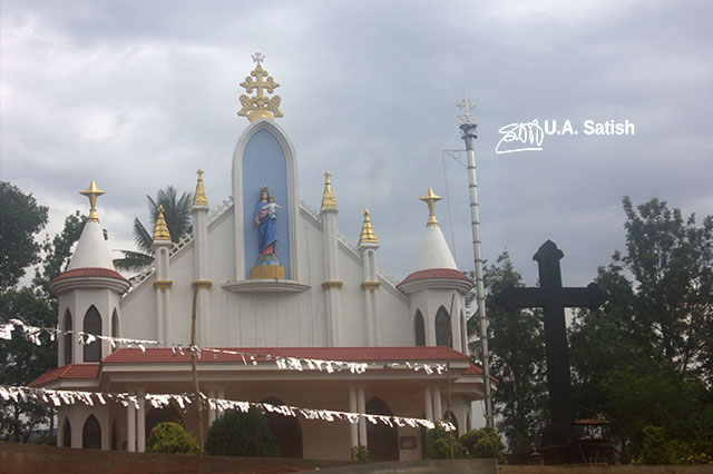 Church; Munnar; Kerala; India; outdoor; architecture; travel; uasatish;