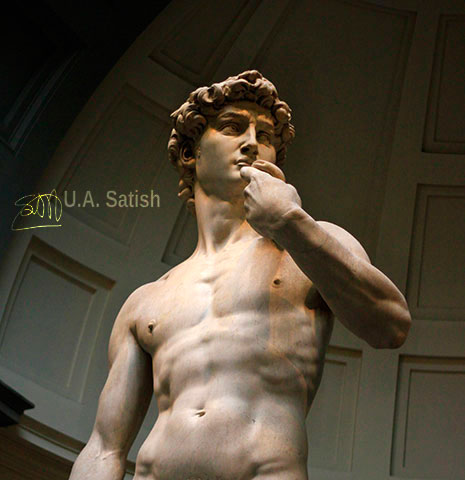 David; Michelangelo; Florence; Italy; uasatish;