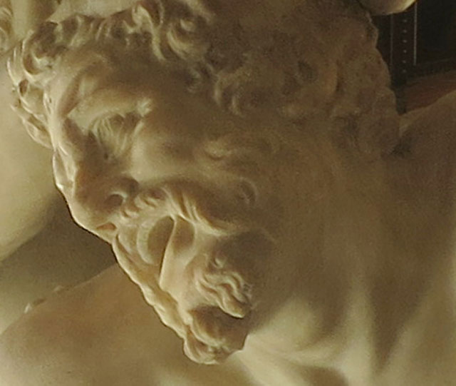 Nessus; centaur; sculpture; Uffizi Gallery; Florence; Italy; indoor; travel; uasatish;