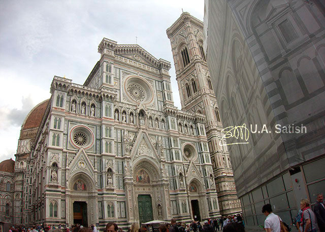 Santa Maria del Fiore; Cathedral; Florence; Italy; architecture; building; uasatish; outdoor; travel;