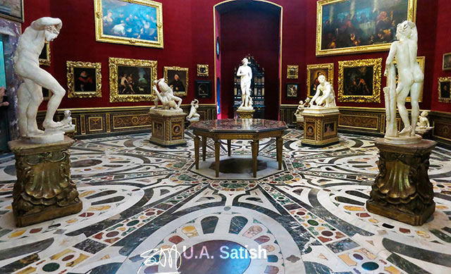 Tribuna; Uffizi Gallery; room no 38; travel; indoor; works of art; uasatish;