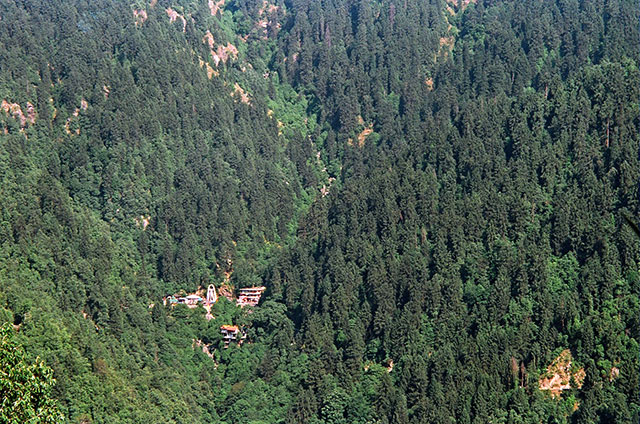 temple; Dalhousie; Himachal Pradesh; outdoor; trees; travel; uasatish;