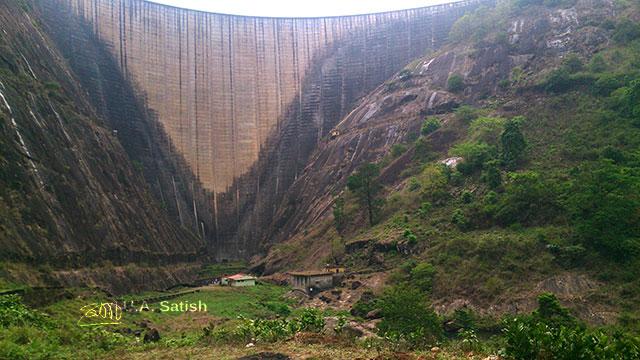 Idukki Dam; Idukki; Kerala; India; mega structure; outdoor; travel; uasatish;