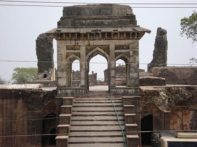 Ashrafi Mahal; Mandu; Madhya Pradesh; India; outdoor; travel; architecture; usatish;