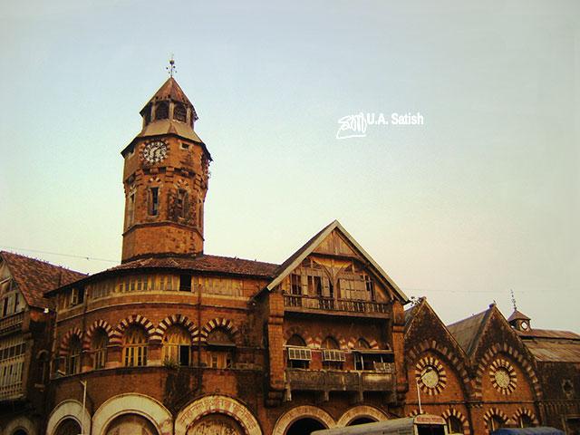 Crawford Market; South Mumbai; Mumbai; Bombay; India; outdoor; architecture; travel; uasatish;