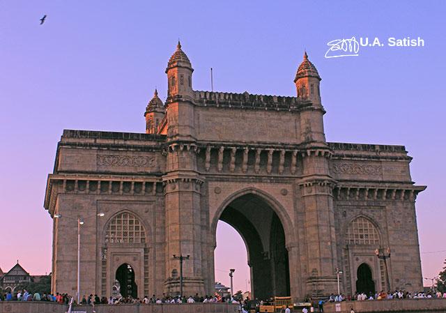 Gateway of India; Mumbai; Bombay; India; outdoor; architecture; outdoor; travel; uasatish;