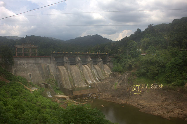Kallarkutty Dam; Vellathuval; Kerala; India; dam; Mudira Puzha; outdoor; sky; clouds; travel; uasatish;