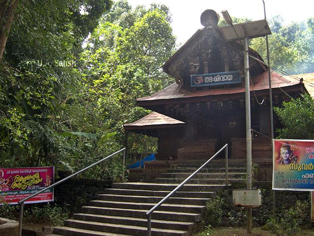 Kottiyoor Temple; Wayanad; Shiva Temple; Kerala; India; outdoor; temple architecture; uasatish;