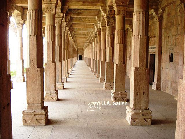 Pillars; Hoshang Shah; Mandu; Madhya Pradesh; architecture; travel; India; uasatish;