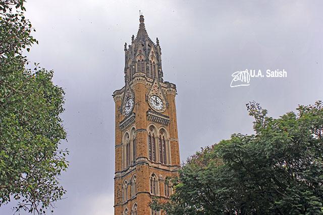 Rajabai Tower; University of Mumbai; Mumbai; Bombay; India; outdoor; architecture; outdoor; travel; uasatish;