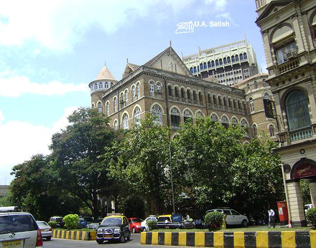 Royal Bombay Yacht Club; Gateway of India; Mumbai; Bombay; India; outdoor; architecture; travel; uasatish;