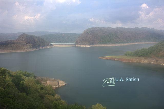 Idukki Arch Dam; Kerala; Idukki; India; lake; rocks; sky; uasatish; outdoor; travel;