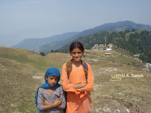 girls; Dalhousie; Himachal Pradesh; India; outdoor; travel; hill top; uasatish;