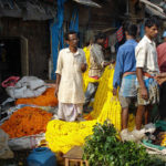 flower market; Kolkata; India; outdoor; travel; flowers; uasatish