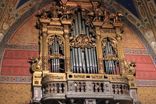 Basilica di Santa Maria Sopra Minerva; Rome; Italy; church; architecture; travel; uasatish; pipe organ;